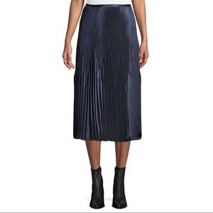 Vince Blue Chevron Skirt
